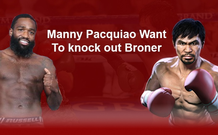 Pacquiao knock out Broner