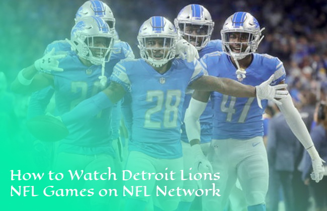 Detroit Lions NFL game on NFL Network