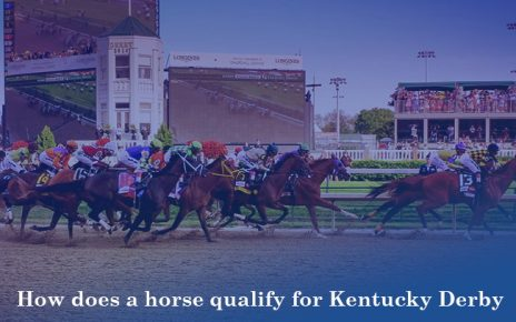 How does a horse qualify for Kentucky Derby?